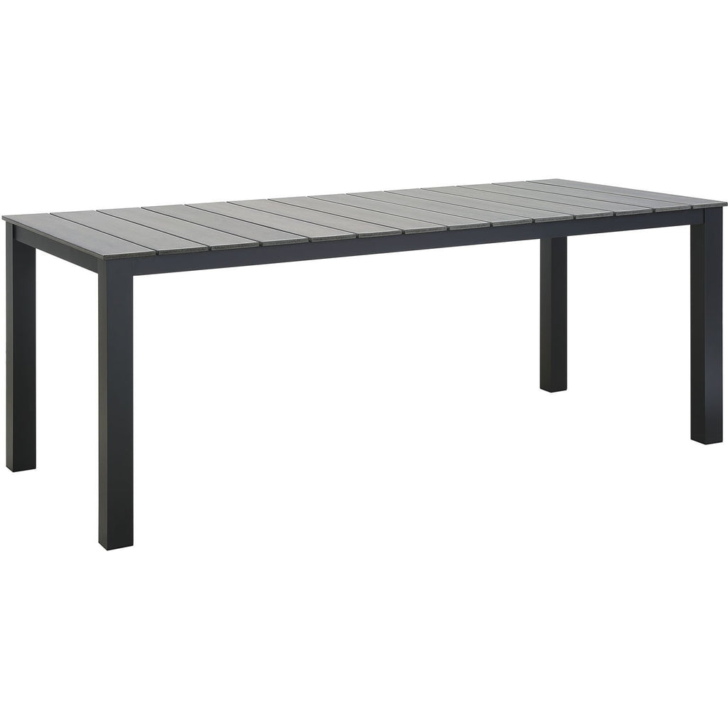 "Modway Furniture Maine 80"" Outdoor Patio Dining Table – Minimal & Mo"