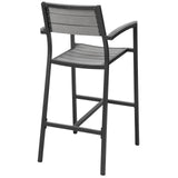 Modway Furniture Maine Outdoor Patio Bar Stool , Bar and Dining - Modway Furniture, Minimal & Modern - 3