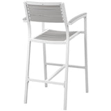 Modway Furniture Maine Outdoor Patio Bar Stool , Bar and Dining - Modway Furniture, Minimal & Modern - 6