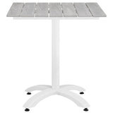 "Modway Furniture Maine 28"" Outdoor Patio Dining Table , Bar and Dining - Modway Furniture, Minimal & Modern - 5"