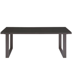 Modway Furniture Fortuna Outdoor Patio Coffee Table EEI-1516-Minimal & Modern