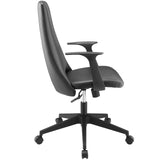 Modway Modern Fount Mid Back Adjustable Computer Office Chair - Minimal & Modern - 2