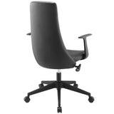 Modway Modern Fount Mid Back Adjustable Computer Office Chair - Minimal & Modern - 3