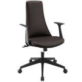 Modway Modern Fount Mid Back Adjustable Computer Office Chair - Minimal & Modern - 17