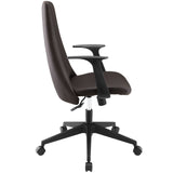 Modway Modern Fount Mid Back Adjustable Computer Office Chair - Minimal & Modern - 18