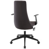 Modway Modern Fount Mid Back Adjustable Computer Office Chair - Minimal & Modern - 19