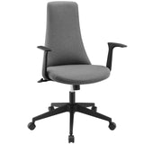 Modway Modern Fount Mid Back Adjustable Computer Office Chair - Minimal & Modern - 13