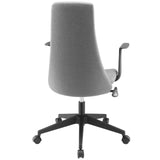 Modway Modern Fount Mid Back Adjustable Computer Office Chair - Minimal & Modern - 15