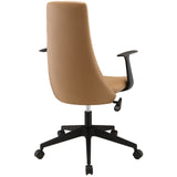 Modway Modern Fount Mid Back Adjustable Computer Office Chair - Minimal & Modern - 11