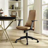Modway Modern Fount Mid Back Adjustable Computer Office Chair - Minimal & Modern - 12