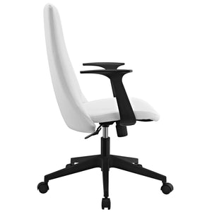 Modway Modern Fount Mid Back Adjustable Computer Office Chair EEI-1524-Minimal & Modern