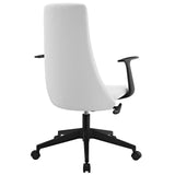 Modway Modern Fount Mid Back Adjustable Computer Office Chair - Minimal & Modern - 7