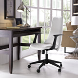 Modway Modern Fount Mid Back Adjustable Computer Office Chair - Minimal & Modern - 8