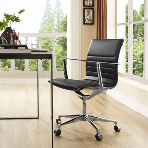 Modway Modern VI Mid Back Adjustable Computer Office Chair EEI-1526-Minimal & Modern