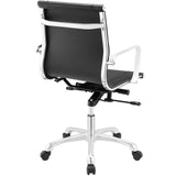 Modway Modern Runway Mid Back Adjustable Computer Office Chair - Minimal & Modern - 19