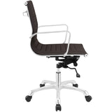 Modway Modern Runway Mid Back Adjustable Computer Office Chair - Minimal & Modern - 14