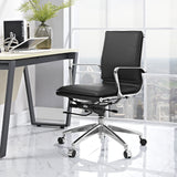 Modway Modern Sage Mid Back Adjustable Computer Office Chair - Minimal & Modern - 20