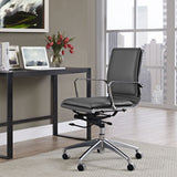 Modway Modern Sage Mid Back Adjustable Computer Office Chair - Minimal & Modern - 12