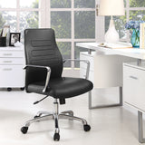 Modway Modern Depict Mid Back Adjustable Computer Aluminium Office Chair - Minimal & Modern - 24