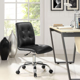 Modway Modern Prim Mid Back Adjustable Computer Office Chair - Minimal & Modern - 27