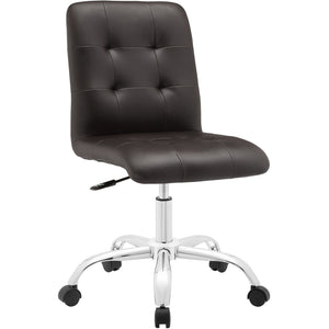 Modway Modern Prim Mid Back Adjustable Computer Office Chair EEI-1533-Minimal & Modern