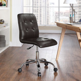 Modway Modern Prim Mid Back Adjustable Computer Office Chair - Minimal & Modern - 4