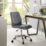 Modway Modern Prim Mid Back Adjustable Computer Office Chair - Minimal & Modern - 23
