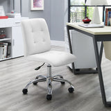 Modway Modern Prim Mid Back Adjustable Computer Office Chair - Minimal & Modern - 8