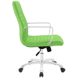 Modway Modern Finesse Mid Back Adjustable Computer Office Chair - Minimal & Modern - 30