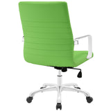 Modway Modern Finesse Mid Back Adjustable Computer Office Chair - Minimal & Modern - 31