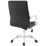 Modway Modern Finesse Mid Back Adjustable Computer Office Chair - Minimal & Modern - 27