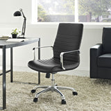 Modway Modern Finesse Mid Back Adjustable Computer Office Chair - Minimal & Modern - 28