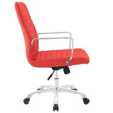 Modway Modern Finesse Mid Back Adjustable Computer Office Chair - Minimal & Modern - 10