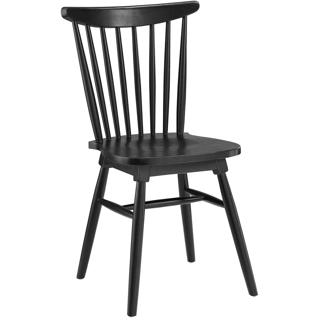 Modway Furniture Amble Modern Dining Side Chair Black, Dining Chairs - Modway Furniture, Minimal & Modern - 1