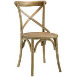 Modway Furniture Gear Modern Dining Side Chair Natural, Dining Chairs - Modway Furniture, Minimal & Modern - 9