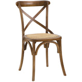 Modway Furniture Gear Modern Dining Side Chair Walnut, Dining Chairs - Modway Furniture, Minimal & Modern - 13