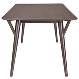 Modway Furniture Brace Modern Walnut Dining Table , dining tables - Modway Furniture, Minimal & Modern - 2