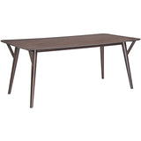 Modway Furniture Brace Modern Walnut Dining Table , dining tables - Modway Furniture, Minimal & Modern - 1