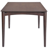 Modway Furniture Scant Modern Walnut Dining Table , dining tables - Modway Furniture, Minimal & Modern - 2