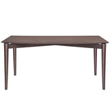 Modway Furniture Scant Modern Walnut Dining Table , dining tables - Modway Furniture, Minimal & Modern - 3