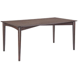 Modway Furniture Scant Modern Walnut Dining Table , dining tables - Modway Furniture, Minimal & Modern - 1