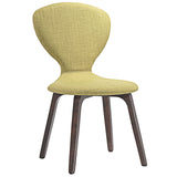 Modway Furniture Tempest Modern Dining Side Chair Walnut Green, Dining Chairs - Modway Furniture, Minimal & Modern - 7