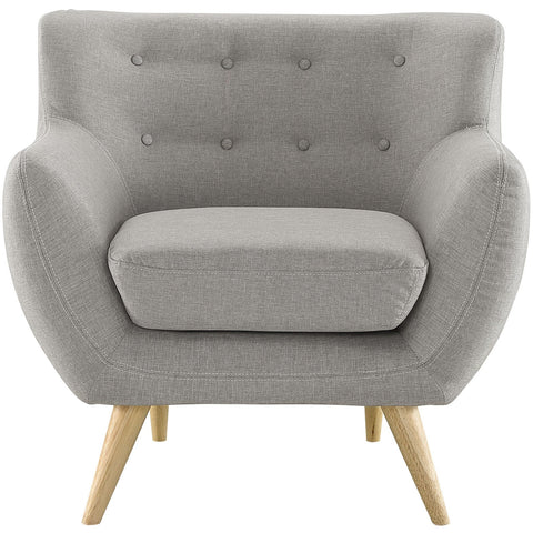 Modway Furniture Remark Armchair Light Gray, Armchair - Modway Furniture, Minimal & Modern - 1