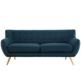 Modway Furniture Remark Sofa Azure, Loveseat - Modway Furniture, Minimal & Modern - 21