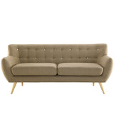 Modway Furniture Remark Sofa Brown, Loveseat - Modway Furniture, Minimal & Modern - 17