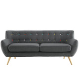 Modway Furniture Remark Sofa Gray, Loveseat - Modway Furniture, Minimal & Modern - 13