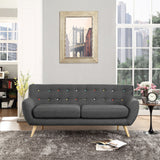 Modway Furniture Remark Sofa , Loveseat - Modway Furniture, Minimal & Modern - 16