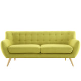Modway Furniture Remark Sofa Wheatgrass, Loveseat - Modway Furniture, Minimal & Modern - 5
