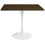 "Modway Furniture Lippa 36"" Modern Walnut Dining Table , dining tables - Modway Furniture, Minimal & Modern - 2"