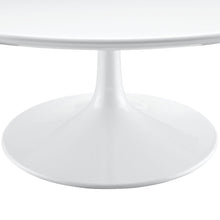 "Modway Furniture Lippa 40"" White Coffee Table EEI-1647-WHI-Minimal & Modern"